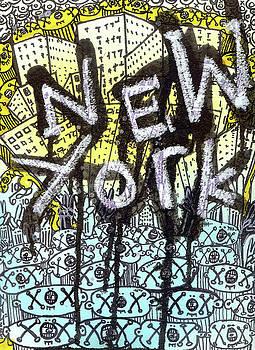 New York Graffiti Scene by Robert Wolverton Jr