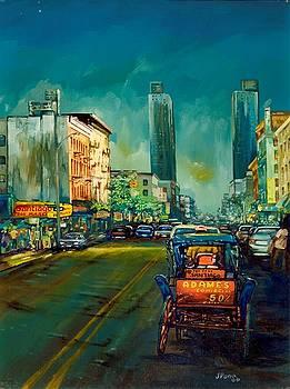 New York in Coche by Jose Pena
