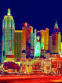Dennis Cox WorldViews - New York in Vegas