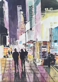 New York by John Ostrowick