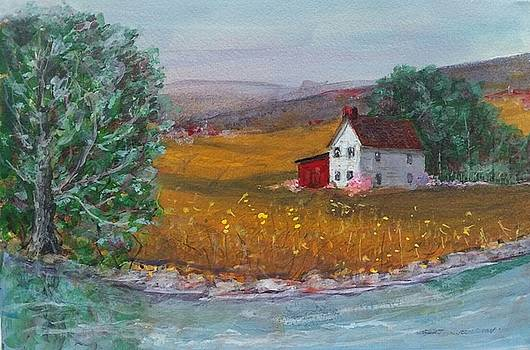 New York Lilacs by Robert Harrington
