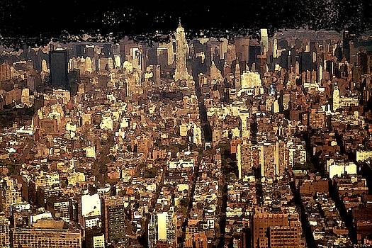 Peter Potter - New York Big Apple - Modern Art