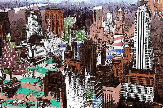 Peter Potter - New York Mid Manhattan - Modern Art