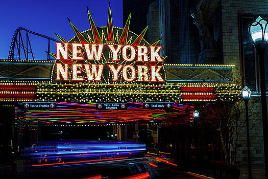 New York New York by James Marvin Phelps