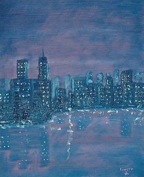 New York Remember. by Artist Kenneth Gustafsson