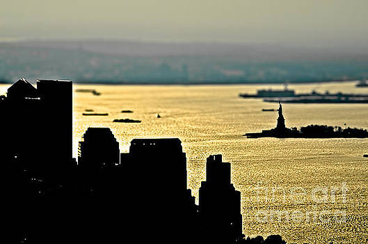 New York silhouette by Alessandro Giorgi Art Photography