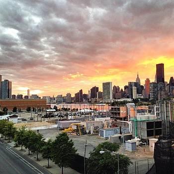 New York Skyline ! #drama #sky #newyork by Shivendra Singh