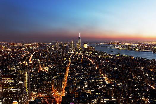 New york Skyline by Baptiste De Izarra