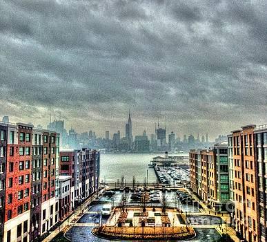 New York Skyline by Debbi Granruth