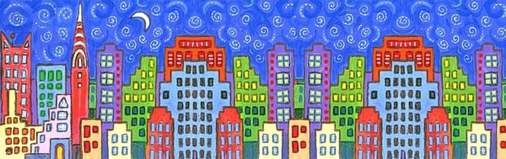 Linda Mears - New York Skyline