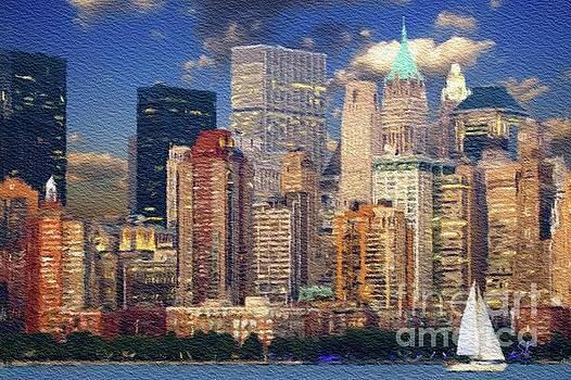 Sarah Kirk - New York Skyline