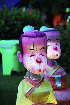 New York State Chinese Lantern Festival 36 by David Stasiak