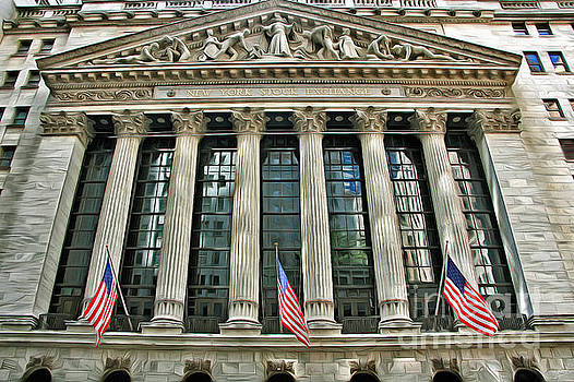 New York Stock Exchange Building 1 by Nishanth Gopinathan