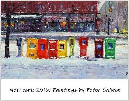 New York Streetscapes 2016 by Peter Salwen