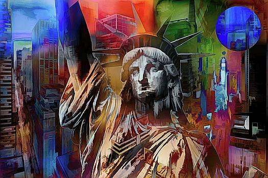 New York Symbols  by Daniel Arrhakis
