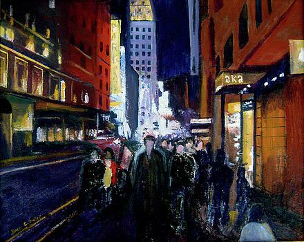 James Gallagher - New York Theatre Crowd
