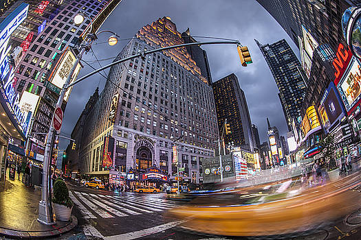 New York Time Square  by Juergen Held