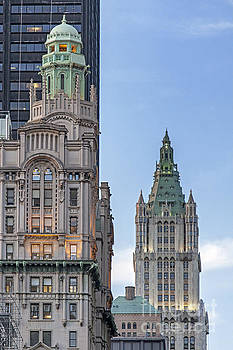 New York Woolworth Building  by Juergen Held