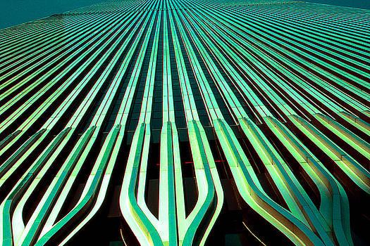 Art America Gallery Peter Potter - New York World Trade Center Facade Before 911
