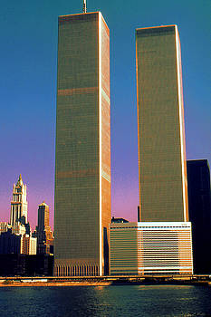 New York World Trade Center Before 911 - Pop Art by Art America Gallery Peter Potter