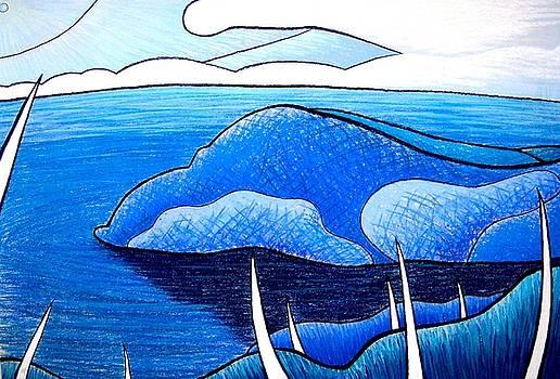 New Zealand Bay by Jason Charles Allen
