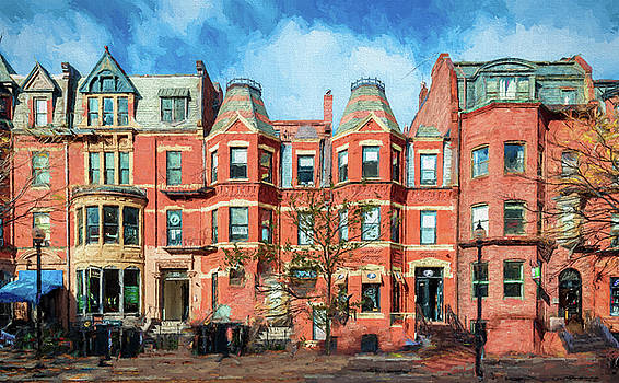 Thomas Logan - Newbury Street in Boston