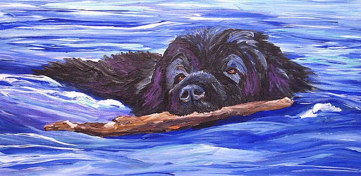 Mary Jo Zorad - Newfoundland Dog Water Trials