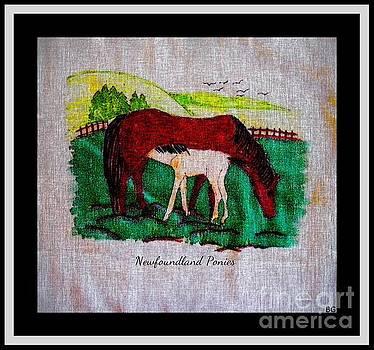 Barbara Griffin - Newfoundland Ponies