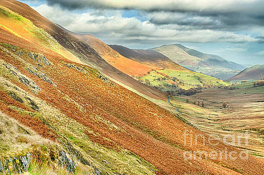 Newlands Valley Cumbria by Linsey Williams