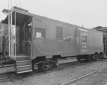 Chicago and North Western Historical Society - Newly Made Caboose - 1963