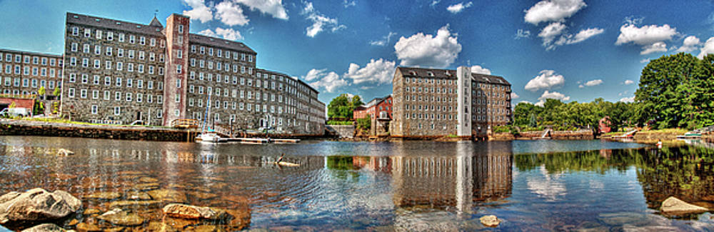 Newmarket Mills by Wayne Marshall Chase