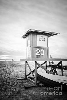 Paul Velgos - Newport Beach Lifeguard Tower 20 Photo