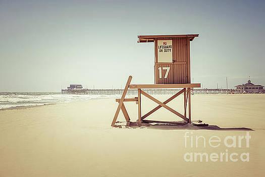Paul Velgos - Newport Beach Pier and Lifeguard Tower 17