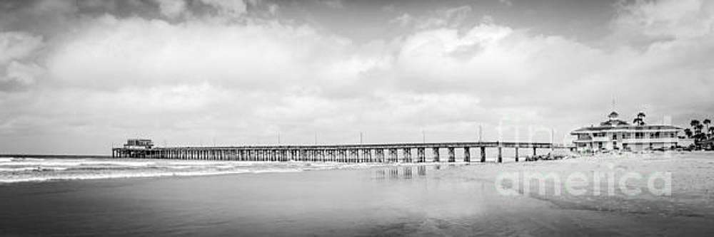 Paul Velgos - Newport Beach Pier Panorama Photo