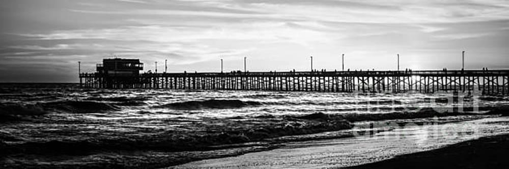 Paul Velgos - Newport Beach Pier Panorama Picture