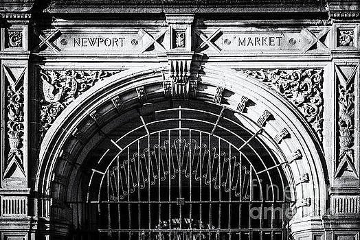 Newport Market Entrance Mono by Steve Purnell