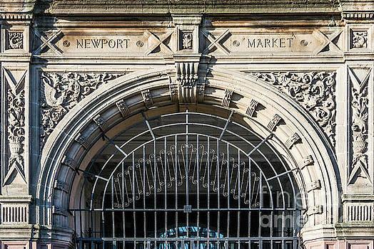 Newport Market Entrance by Steve Purnell