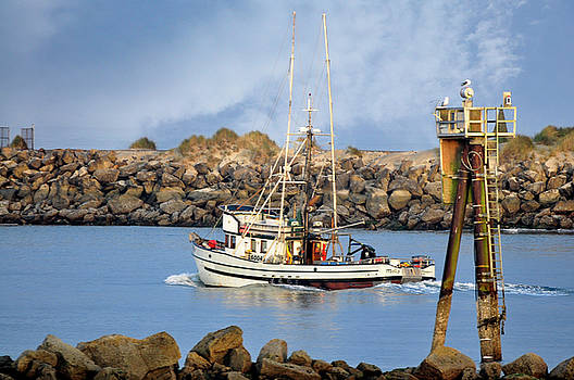 Newport Oregon - Coastal Fishing by Image Takers Photography LLC - Carol Haddon