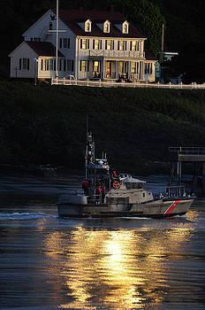 Newport Oregon - Yaquina Coast Guard Station by Image Takers Photography LLC - Carol Haddon