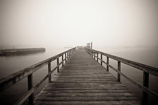 Newport Pier by Susan Schumann