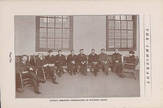 Chicago and North Western Historical Society - Newly Arrived Immigrants in Waiting Room