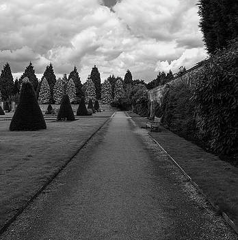Newstead Abbey Country Garden Gravel Path by Scott Lyons