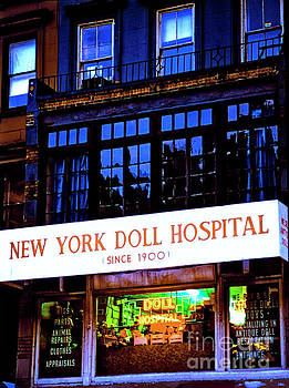 NewYork Doll Hospital NYC 30209093b by Tom Jelen