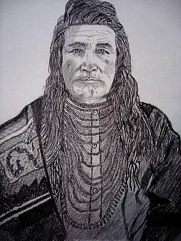 Nez Perce Indian by Debbie Braswell