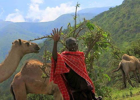 Ngorongoro herder by David Olson