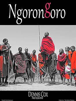 Dennis Cox Photo Explorer - Ngorongoro Travel Poster