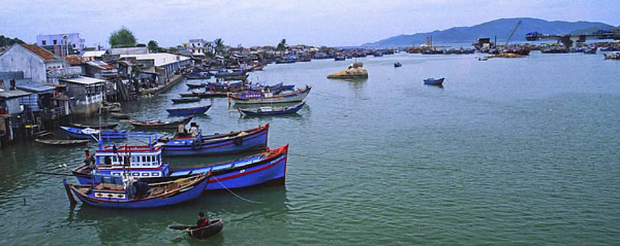 Nha Trang Harbor, Vietnam by Rich Walter