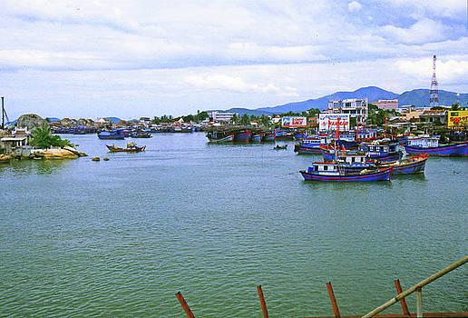 Nha Trang, Vietnam Harbor by Rich Walter