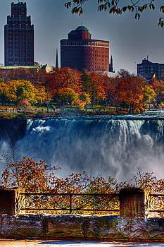 Niagara Falls From Ontario by Don Nieman