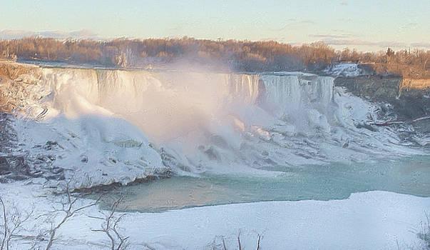 Garvin Hunter - Niagara Falls in Wintertime